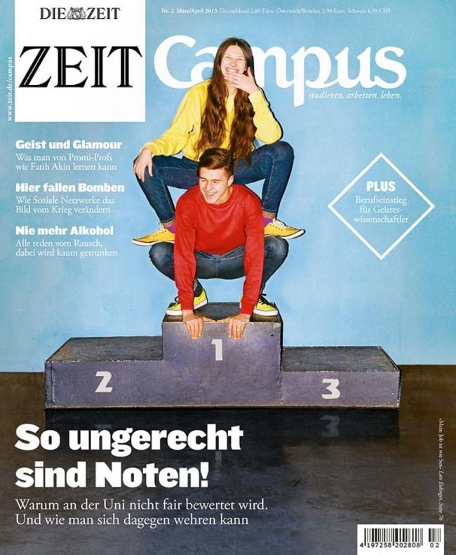 Synchrodogs für »Zeit Campus« #2, 2013