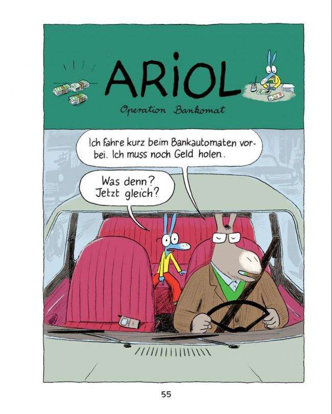 »Ariol – Ein kleiner Esel wie du und ich« von Emmanuel Guibert & Marc Boutavant