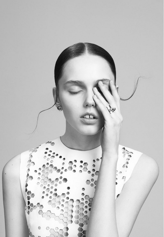 Roman Goebel (Foto) + Hauke Krause (Hair) @ Klaus Stiegemeyer, for Ina Beissner Jewellery