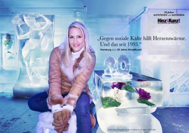 Hinz & Kunzt Kampagne zum 20jährigen Bestehen  Foto: Ivo von Renner