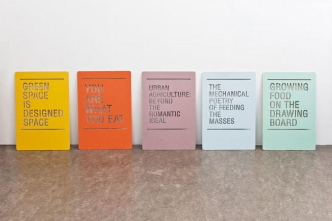 Exhibition Graphics for »De Etende Mens« | Designhuis – Premsela