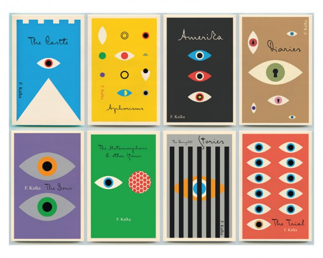 »The Complete Works of Franz Kafka«, Peter Mendelsund, Pantheon Books, 2012