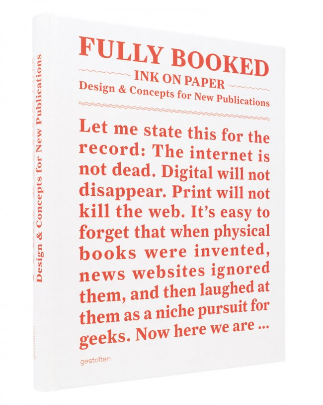 Cover »Fully Booked: Ink on Paper«, Robert Klanten und Matthias Hübner