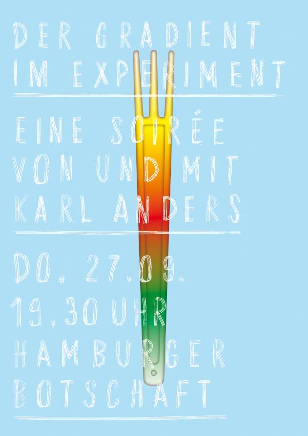 Der Gradient im Experiment, Plakat