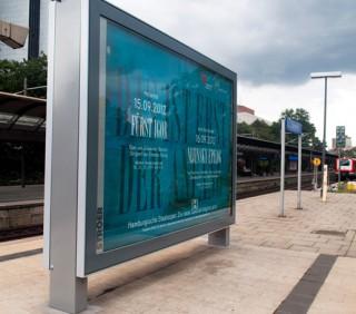 Kampagne zum Spielzeitauftakt 2013 für die Hamburgische Staatsoper