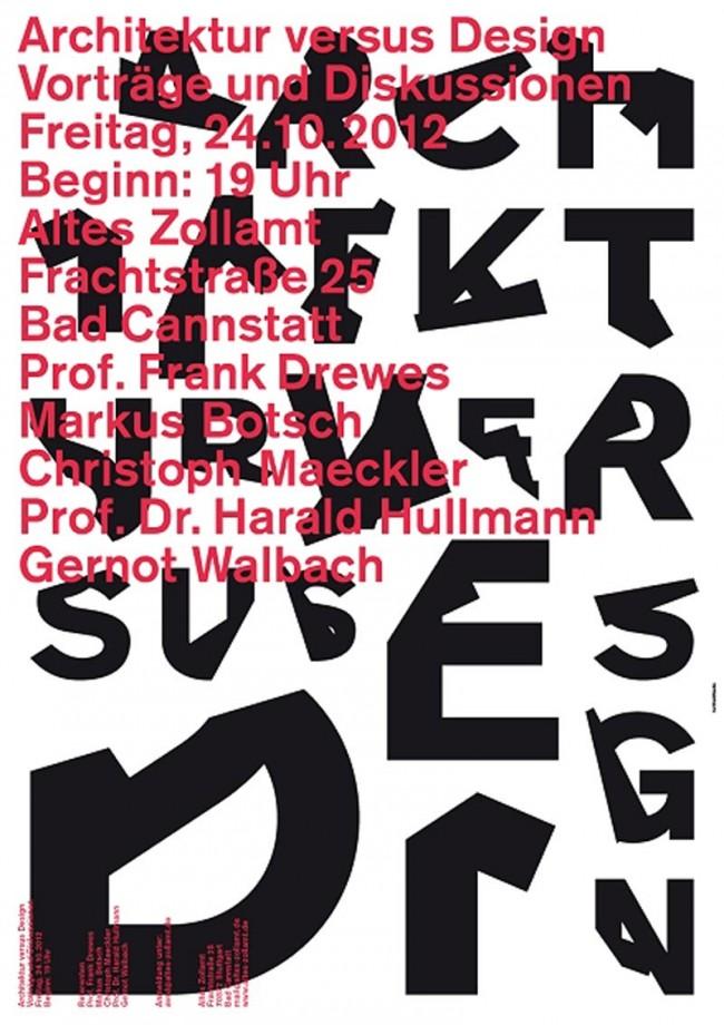 Architektur versus Design, Stuttgart
