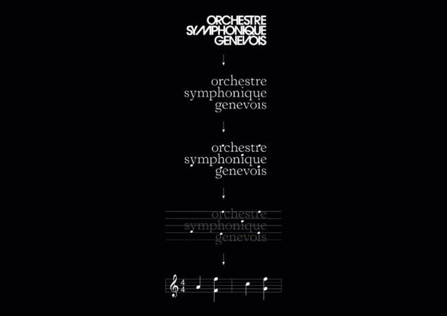 Markenauftritt Orchestre Symphonique Genevois
