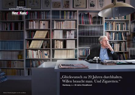 Bild Hinz&Kunzt Kampagne