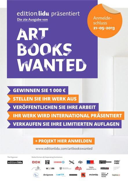 Bild Art Books Wanted