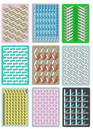 Niederländerin Sigrid Calon arbeitet viel mit Textilien und Stickerei, aber auch Stencils und Risograph
