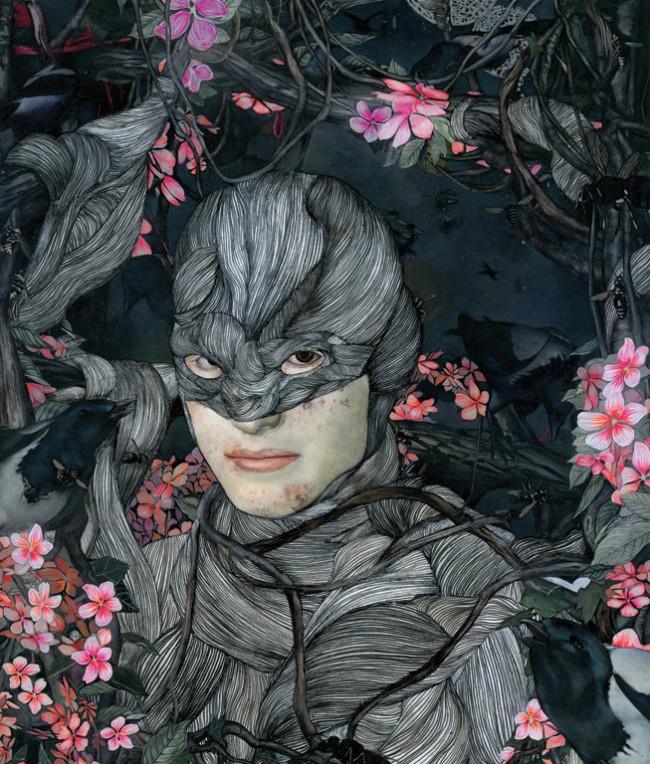 Die fantastisch-romantischen Arbeiten von Steven Tabbutt aus New York waren schon in vielen internationalen Ausstellungen zu sehen