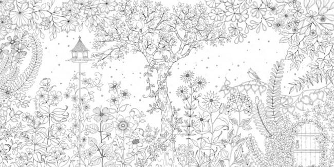 Johanna Basford, Mein verzauberter Garten, Knesebeck Verlag