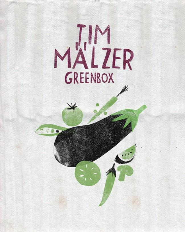 für Tim Mälzers »Greenbox«, Innentitel