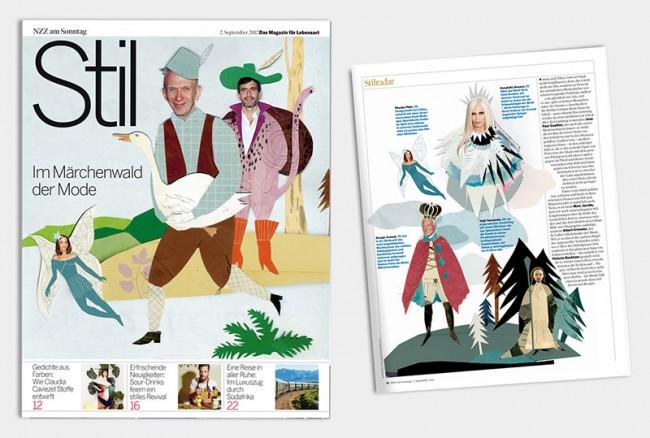 für die NZZ: Designer als Märchenfiguren