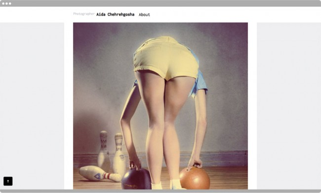 Aida Chehrehgosha, Photographer Website