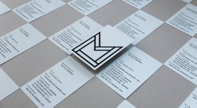 Malin Lundmark, Businesscards