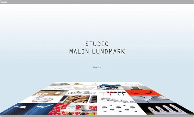 Malin Lundmark, Website