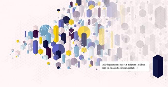 Oppna Bidrag, Illustration