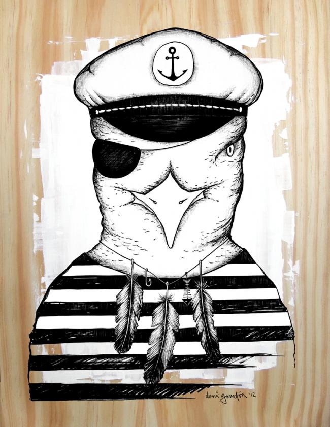 Daniela Garreton: Captain Seagull