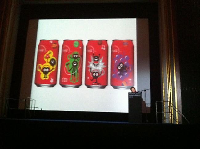 Geneviève Gauckler für Coca Cola Hongkong