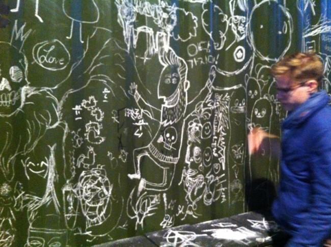 White Noise im Pictoplasma Treff Platoon Kunsthalle