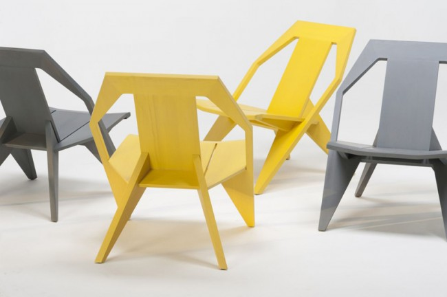 Furniture: MEDICI CHAIR - Designed by Konstantin Grcic for Mattiazzi