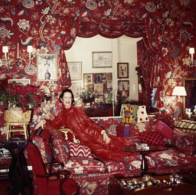 Fashion: DIANA VREELAND: THE EYE HAS TO TRAVEL - Directed by Lisa Immordino Vreeland