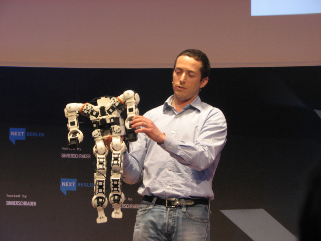 Roboter im 3D Print von Limor Schweitzer (Robosavvy)
