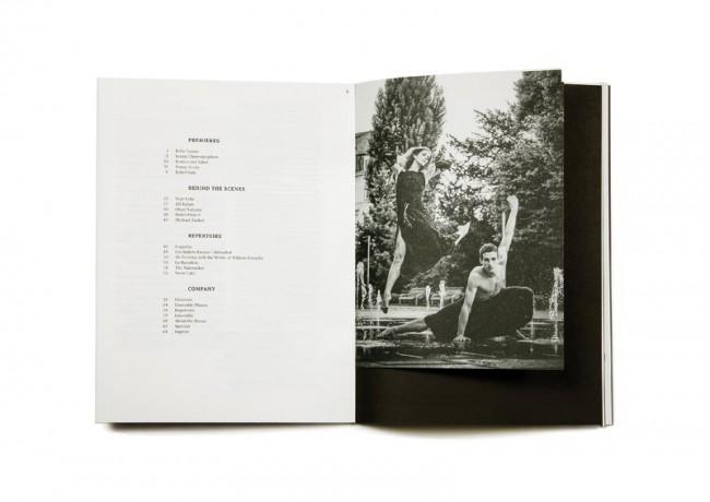 Semperoper Ballett Broschüre 12/13