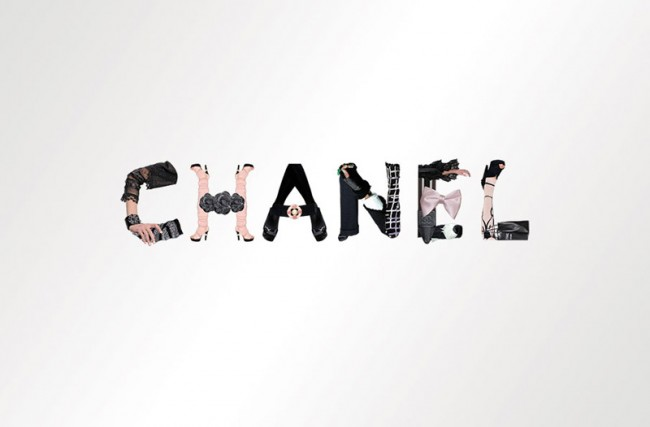 Collaboration, CHANEL font for the collection 2009