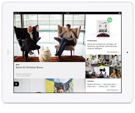 Bild Freunde von Freunden iPad