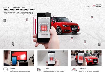 Bild Audi A1 Heartbeat Run