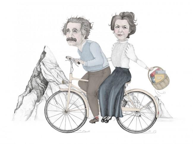 Mileva und Albert