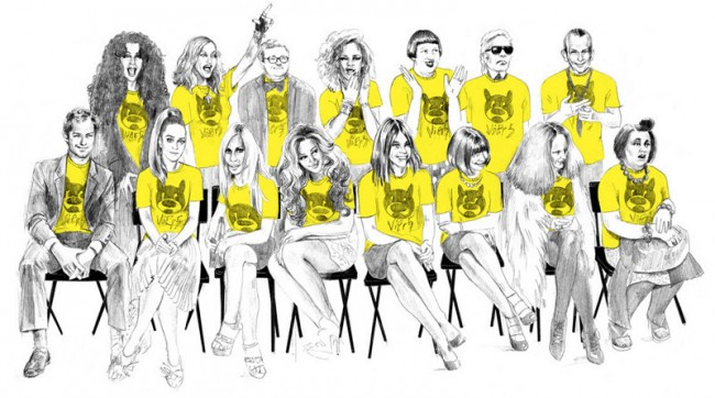 Elisabeth Moch: Einladung zur Fashion Show von Vier5 in Paris