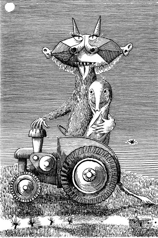 Daniel Mroz, Buchillustration 1957