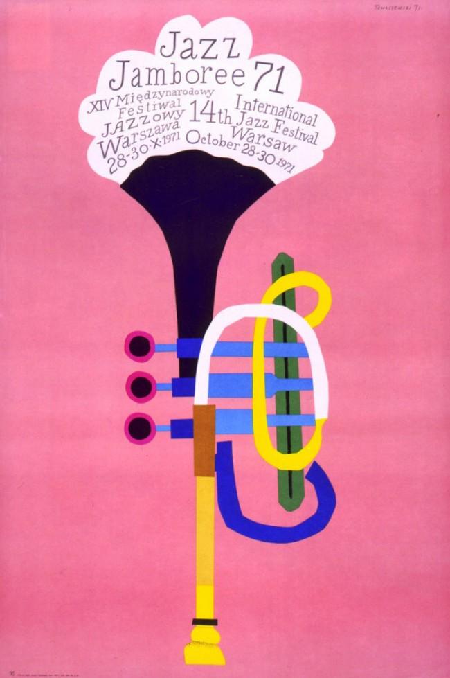 Henryk Tomaszewski, Konzertplakat 1971