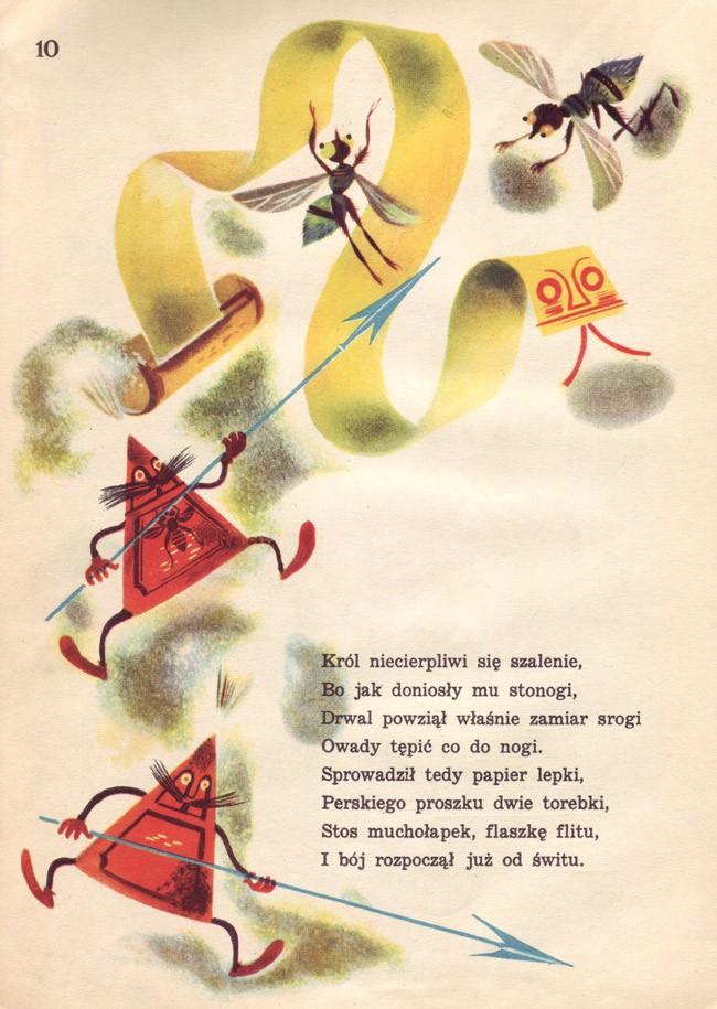 Jan Marcin Szancer für »Za Krola Jelonka« von Jan-Brzechwa, 1950
