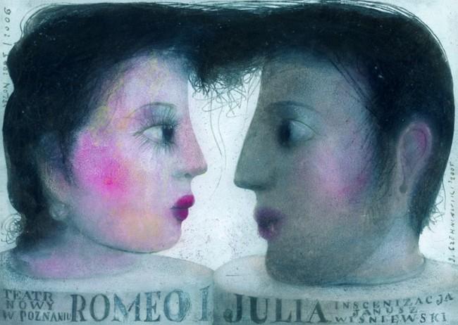 Jerzy Czerniawski, Theaterplakat