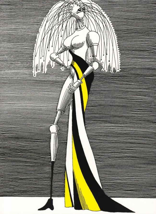 Daniel Mroz, Illustrationen für »Solaris« von Stanislaw Lem