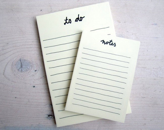 Notiz Blöcke