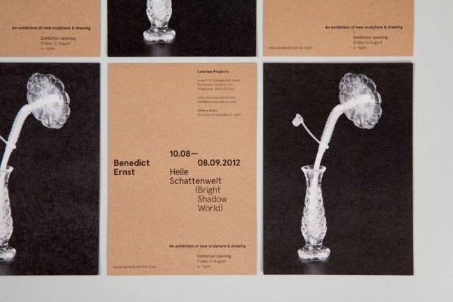 Benedict Ernst   Exhibition Invitation