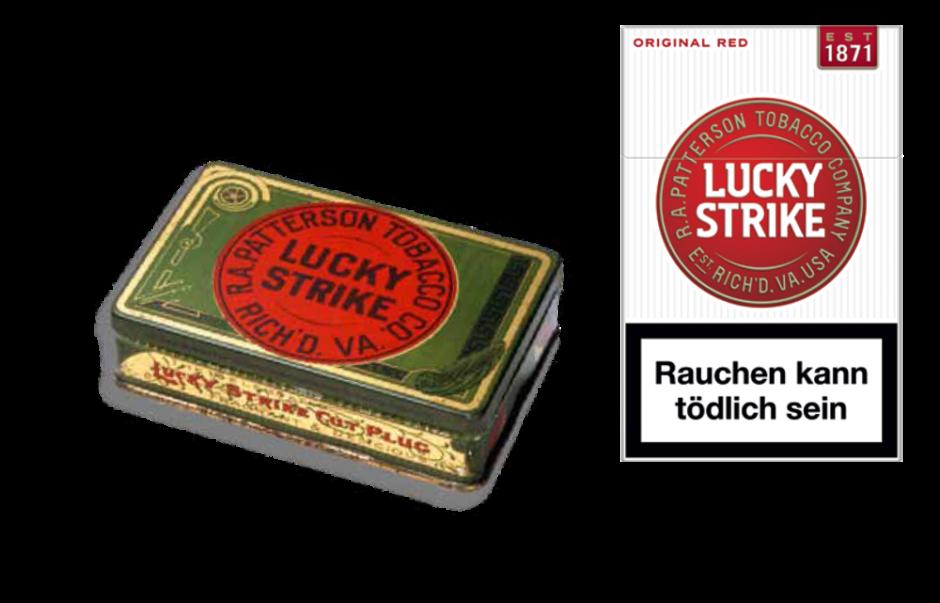 Von der Tabakdose bis zur neuen Schachtel: Das neue Logo greift die Ursprünge der Marke auf