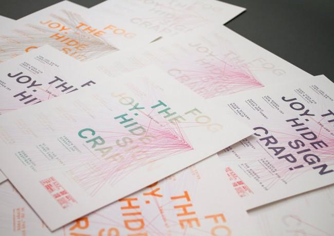 Buchdruck-Reihe für The Joy Of Graphic Design