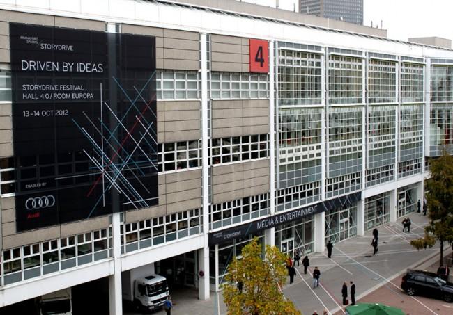 Corporate Design für das STORYDRIVE Festival auf der Frankfurter Buchmesse