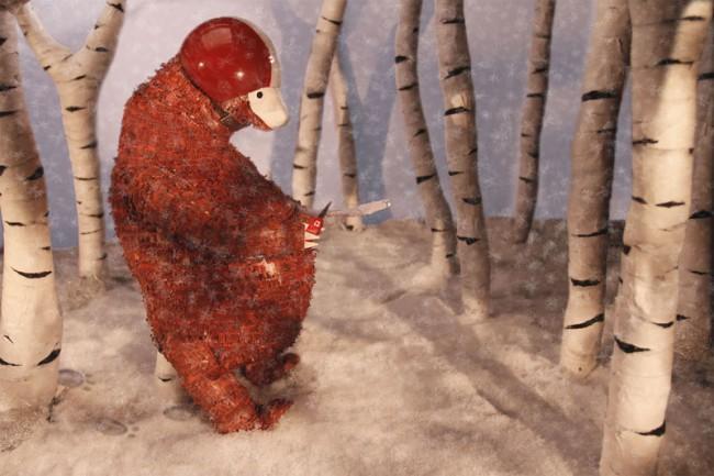 »Als der Bär vom Baum fiel«: IM SCHNEE