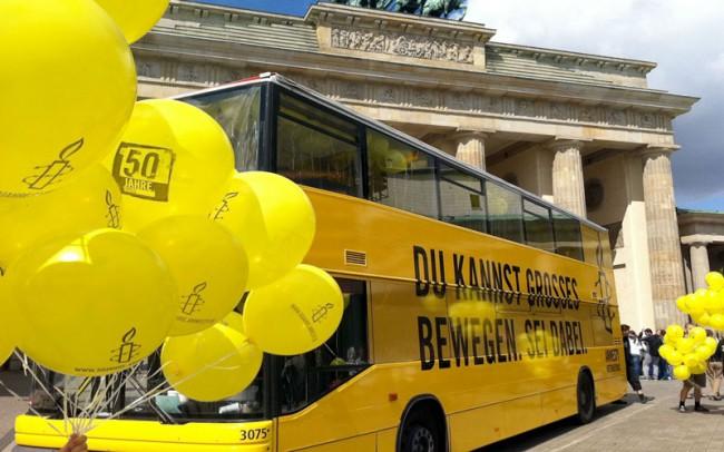 Amnesty Bus