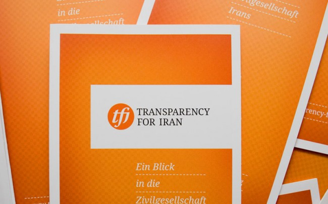 Cover »Transparency for Iran«