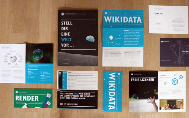 Wikimedia, Drucksachen