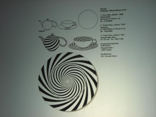 Geschirr in Zusammenarbeit mit der Königlichen Porzellan Manufaktur Berlin