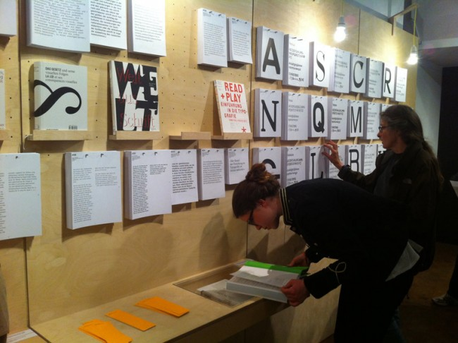 Ausstellungseröffnung ON-TYPE, Bauhaus-Archiv